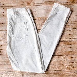 Indigo Rein High Rise White Skinny Jeans